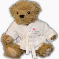 10 inch personalised bear in robe