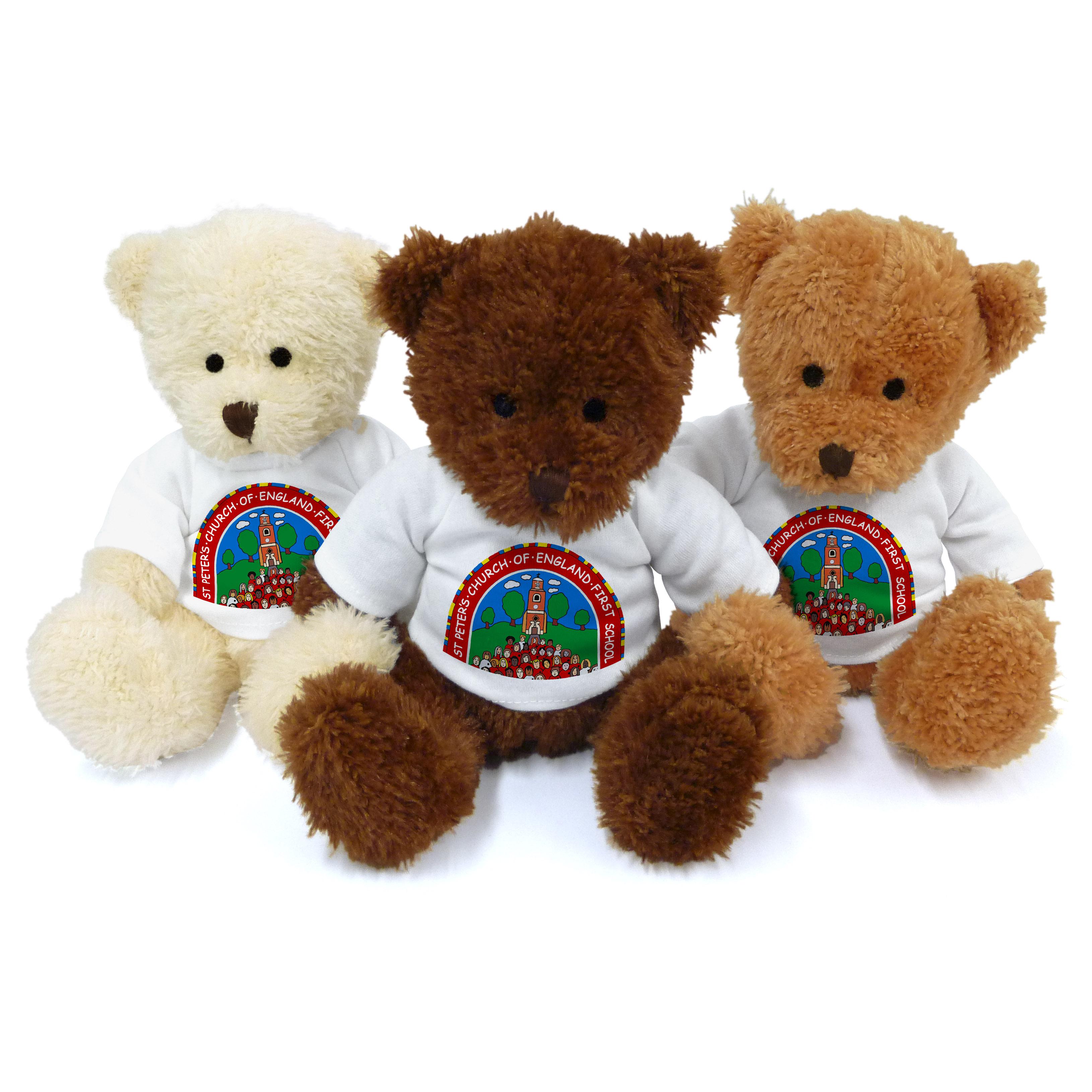 School personalised bear