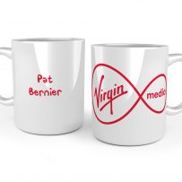 business staff mugs