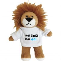 Personalised school lion