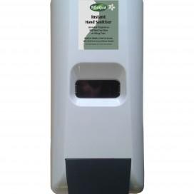 Hand sanitiser wall dispenser