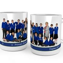 class of 2017 photo mug