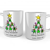 Personalised Christmas Mug