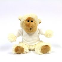 Personalised lamb soft toy small