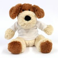School Attendance Mascot Dog Teddy