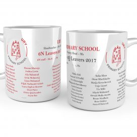 Year 6 school leavers mug