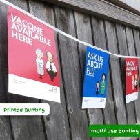 Printed Bunting